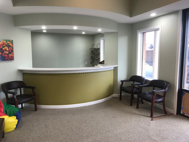 Lynchburg New Office Front Desk